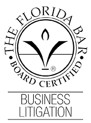 Board Certified business litigation logo