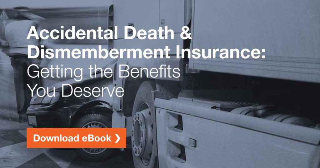 Download our free accidental death and dismemberment eBook