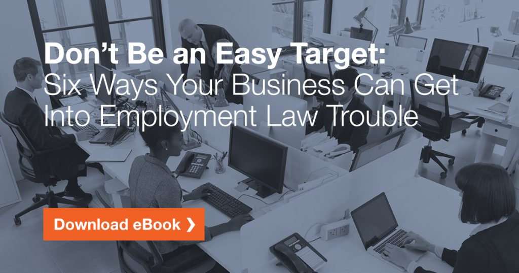 Download our free employment law eBook