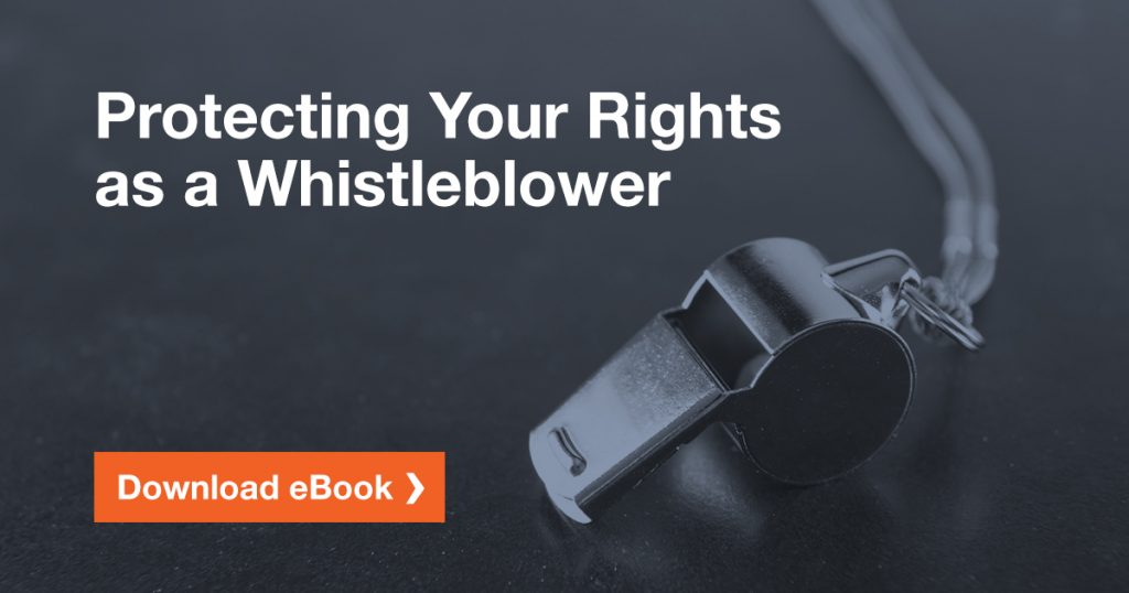 Download our free whistleblower eBook